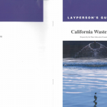 Information about California wastewater prepared and distributed by Water Education foundation