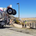 DRIP WWTP project cement truck